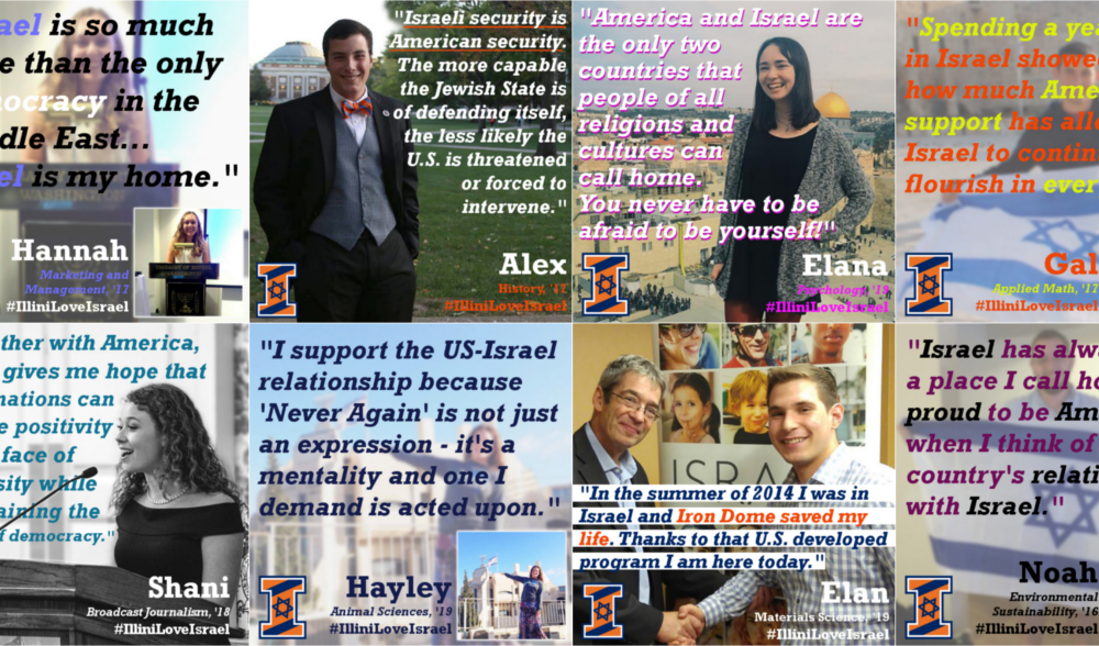 These Illini Shared Why They Love Israel