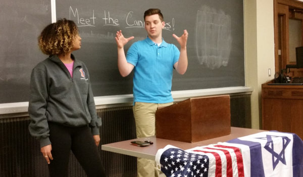 Student Body Presidential Candidates IlliniPAC