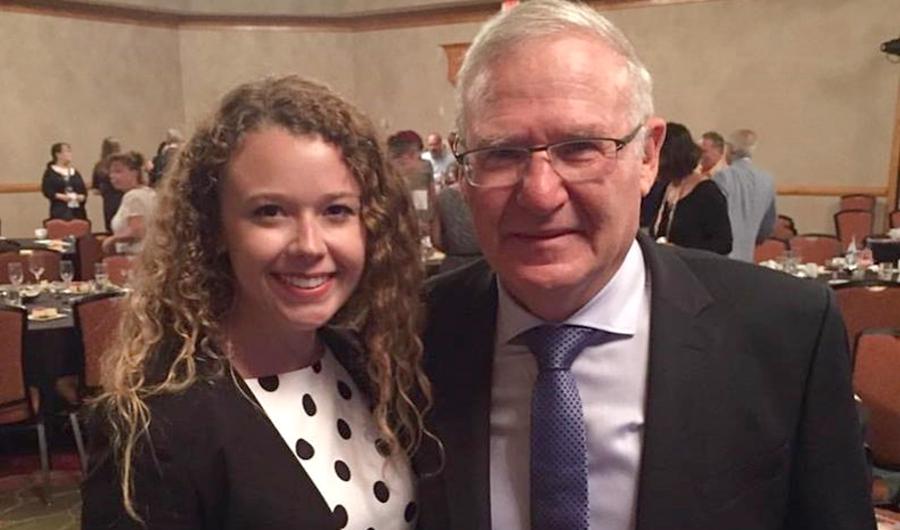 Illinois Student Shani Benezra Addresses AIPAC Indiana