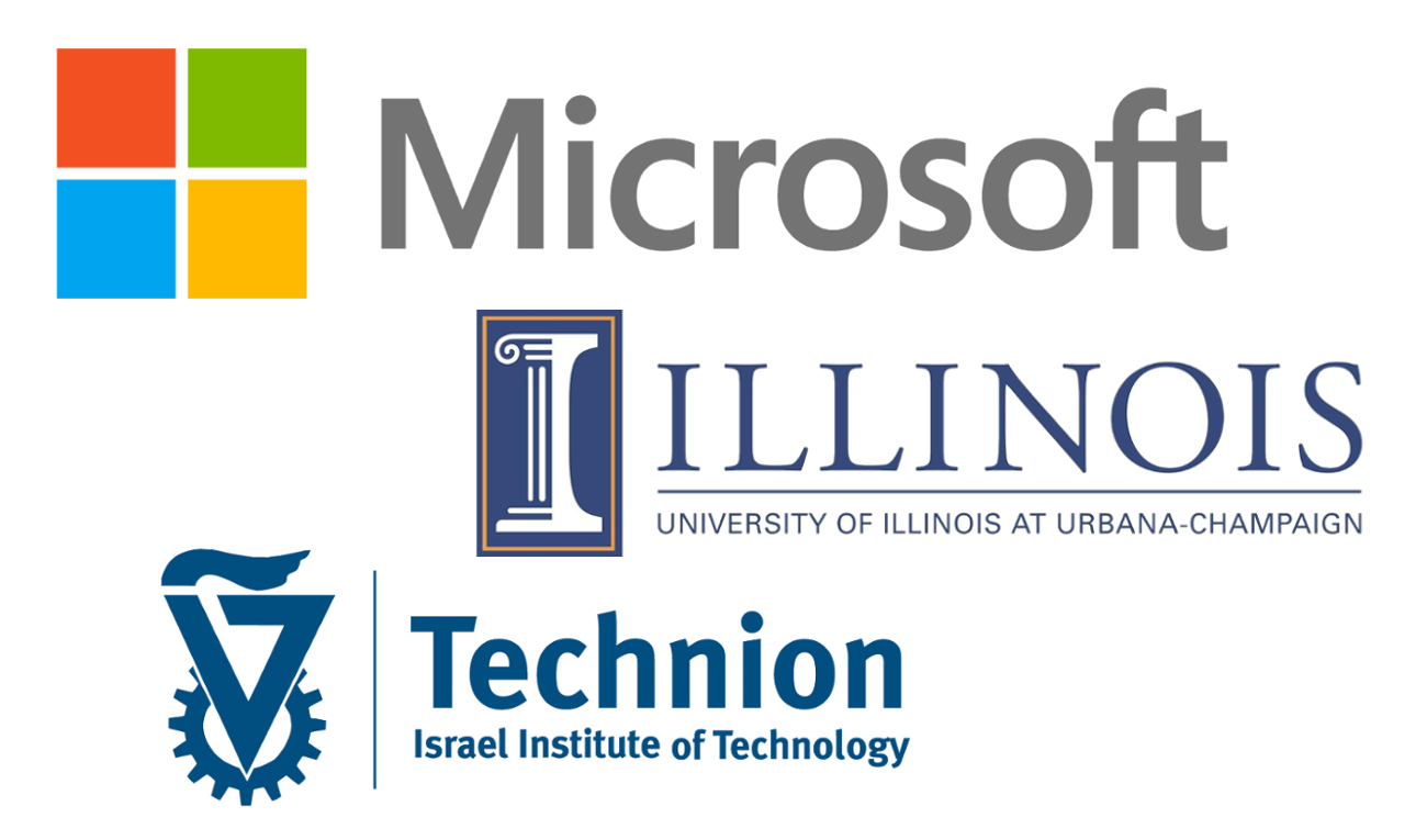 Microsoft announces new partnership with University of Illinois and Technion Israel Institute of Technology
