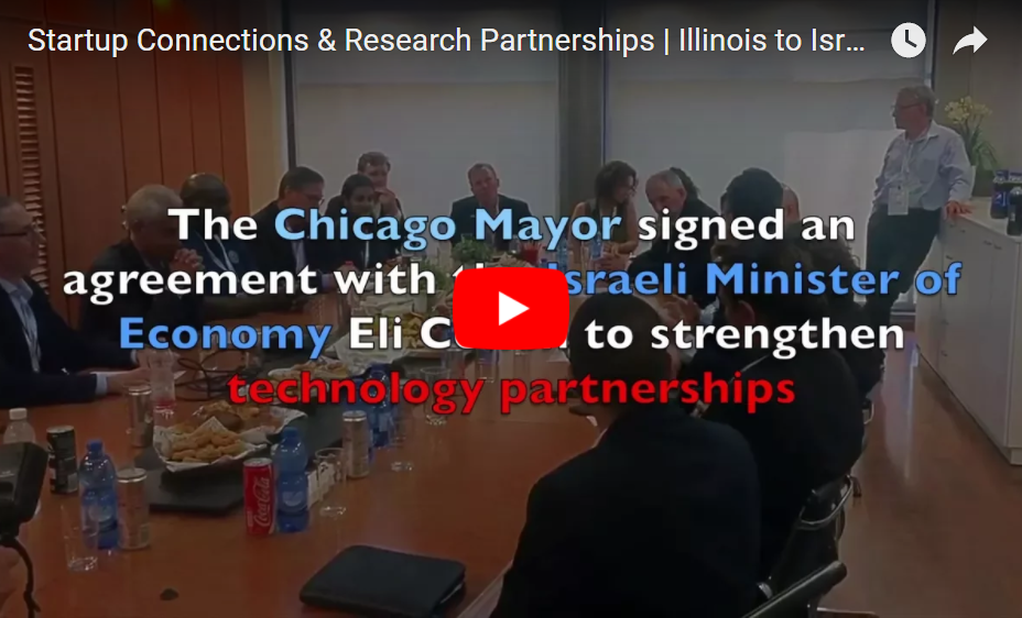 Illinois, Israel Form Startup Connections & Research Partnerships
