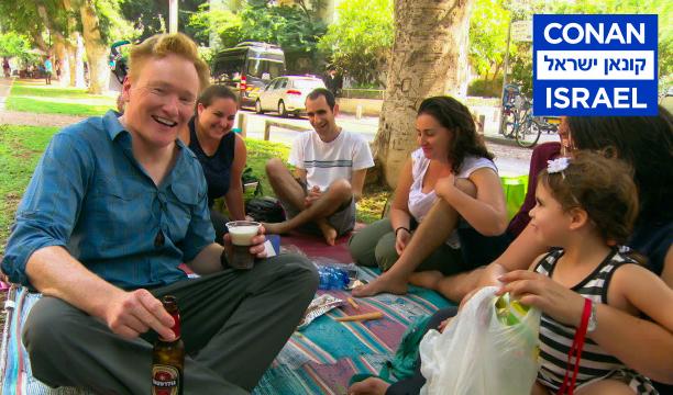 Conan refreshing look at real life Israel