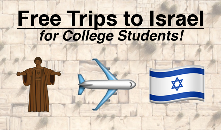 Free Trips to Israel for College Students IlliniPAC