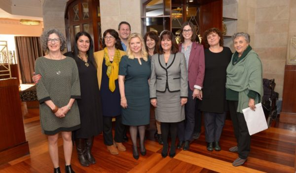 Women Lead Art Therapy Roundtable in Jerusalem