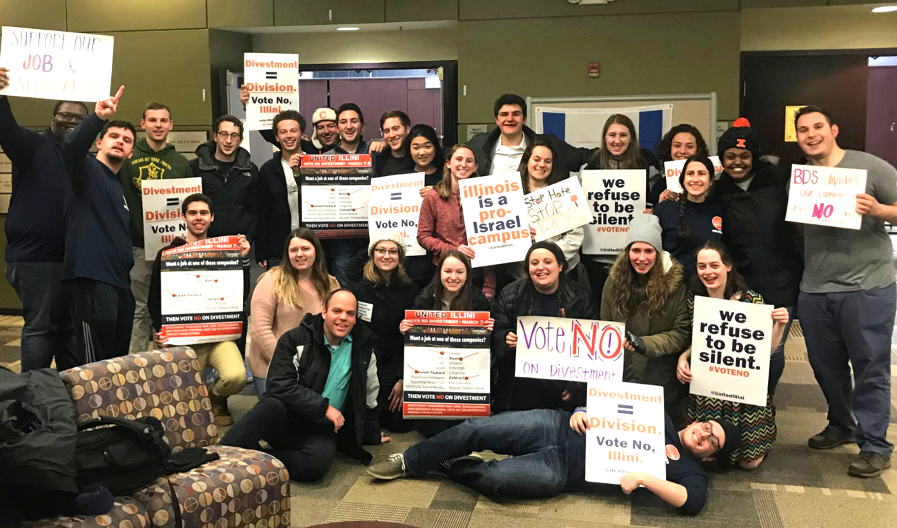 Referendum to Divest from Israel Defeated Second Time at University of Illinois